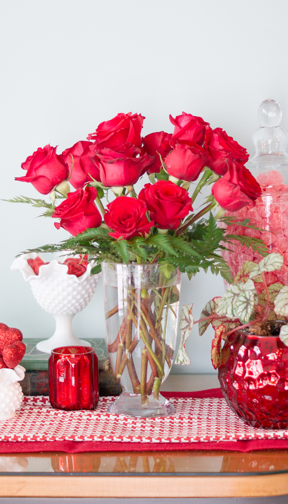 How to arrange fresh flowers