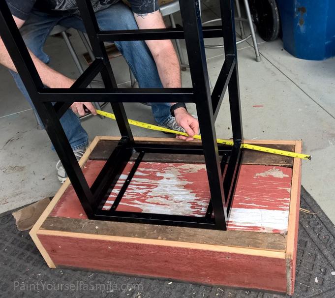 building a patio garden box