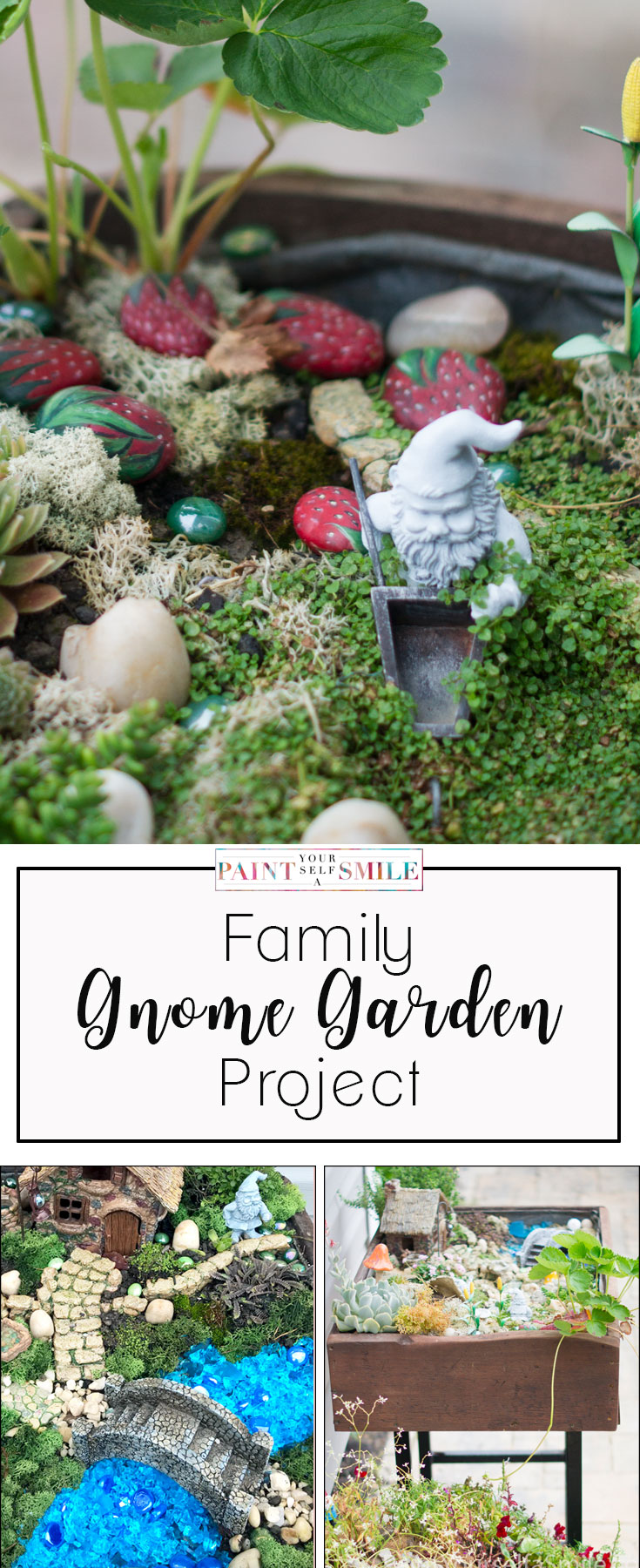 creating a gnome garden paint yourself a smile