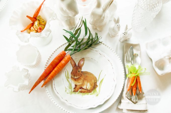 DIY Easter Décor & Napkin Rings