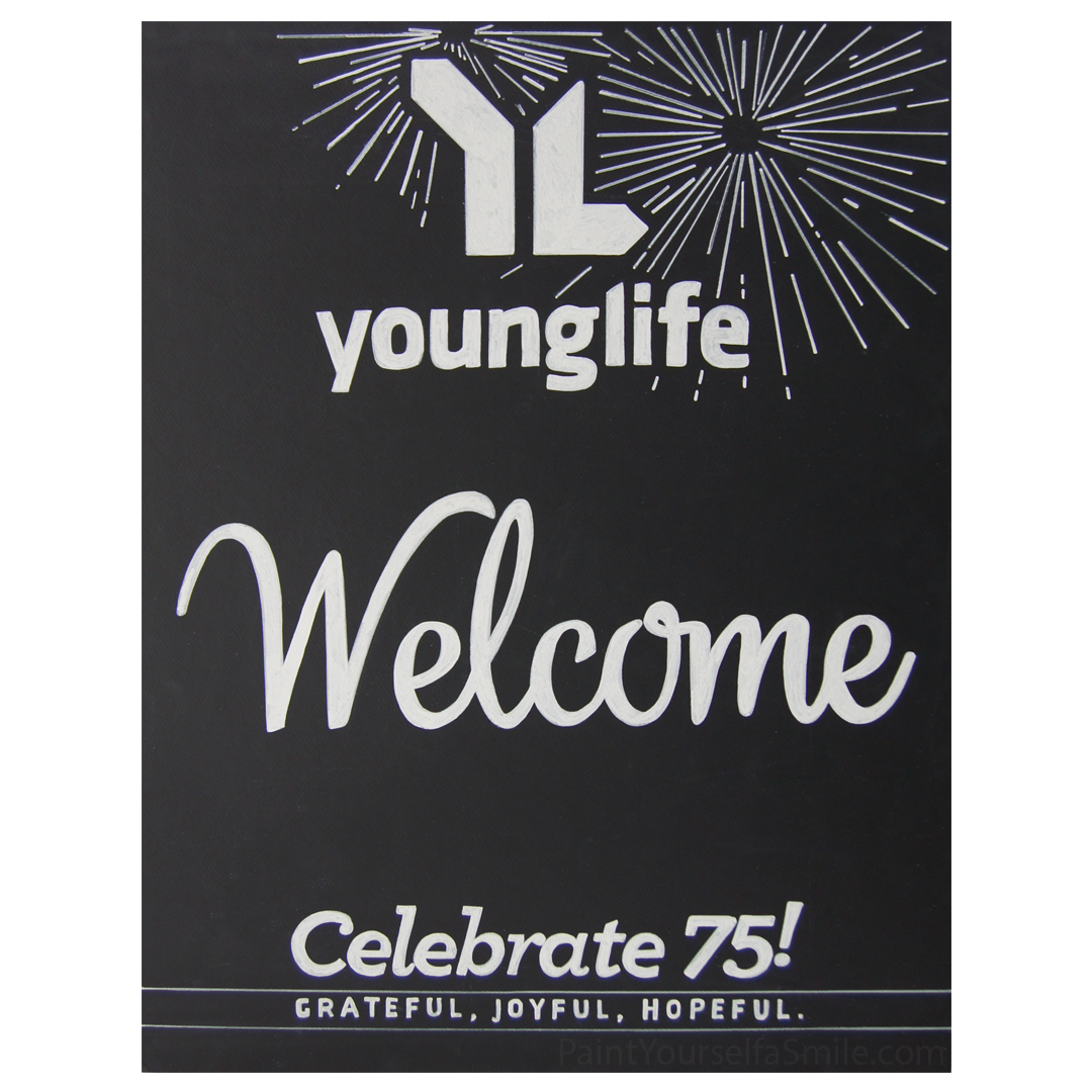 Young Life Sign