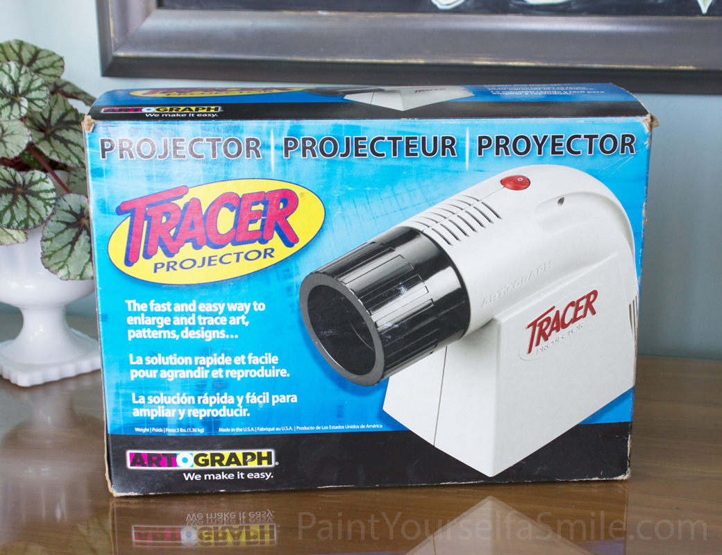 transfer using a projector