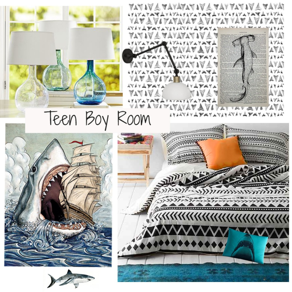 One Room Challenge, Teen Bedroom Week One
