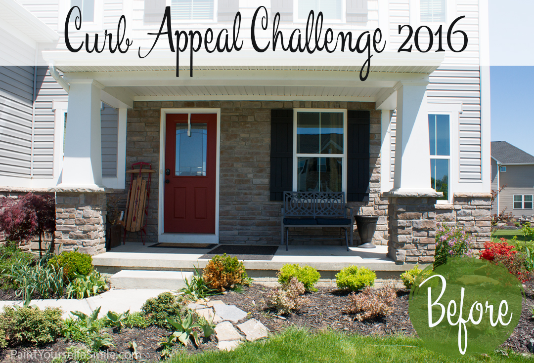 Paint Yourself a Smile House. Follow along as 12 bloggers tackle projects that all add curb appeal to their homes.