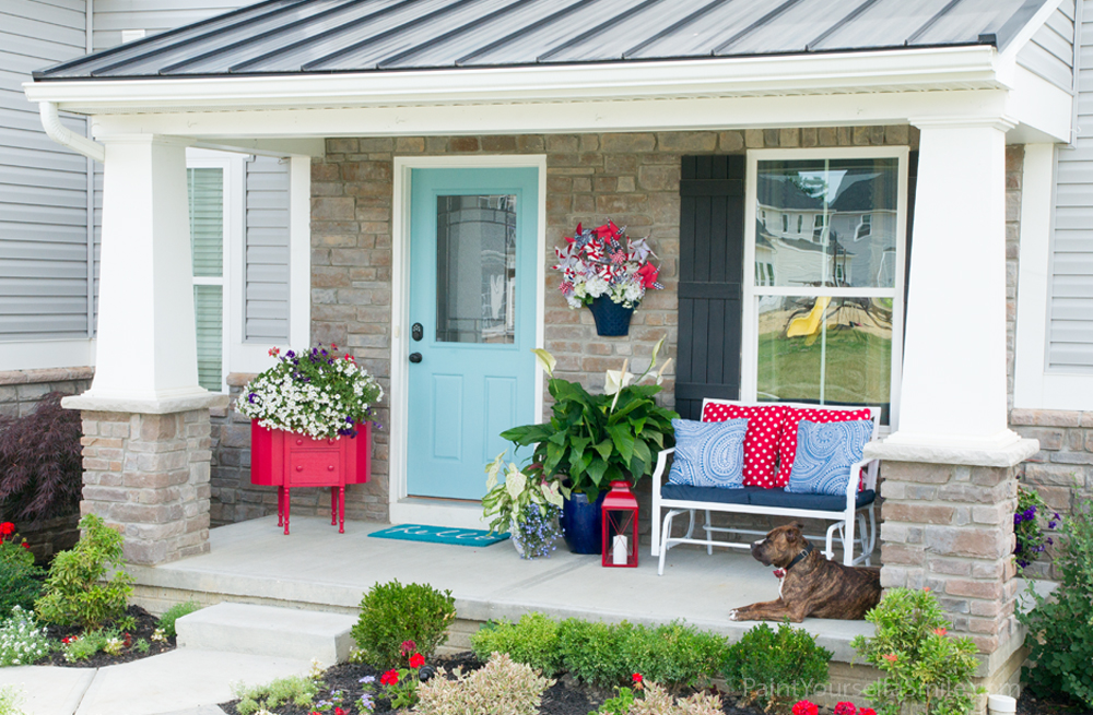 Welcome Home Porch Décor