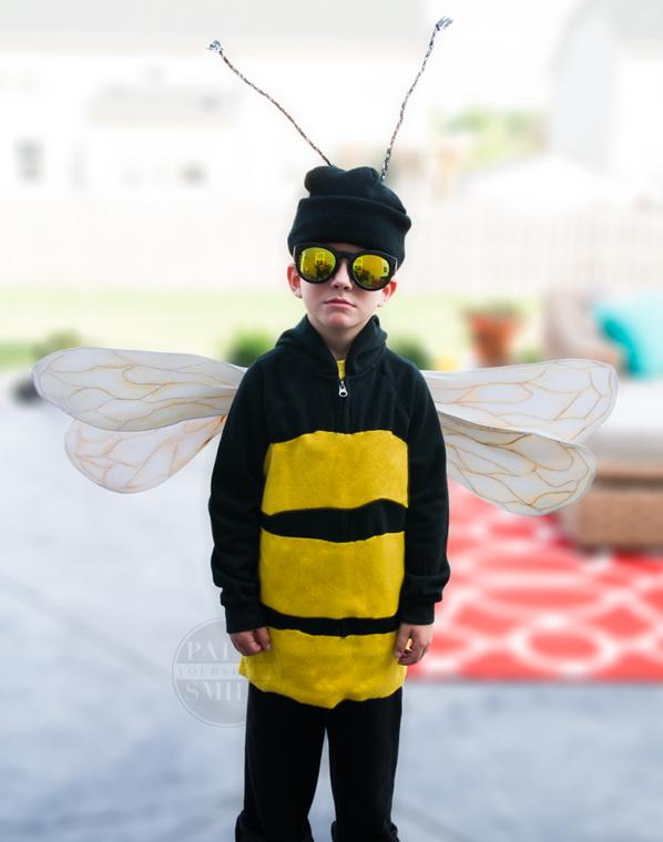 Easy Bumble Bee Costume Paint Yourself A Smile