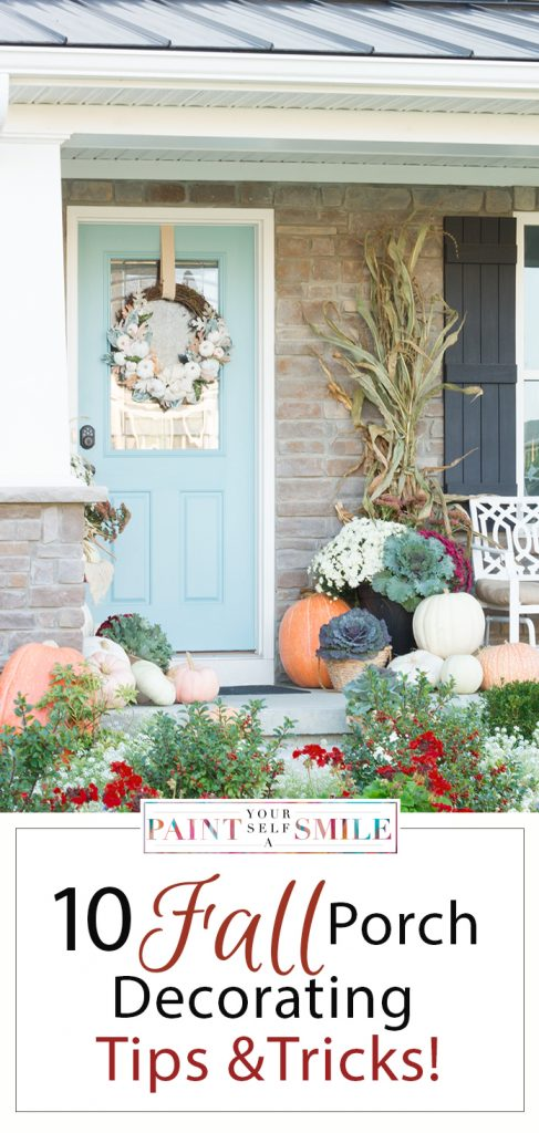 great tips and tricks to remeber that will make decorating for fall easy and fun.