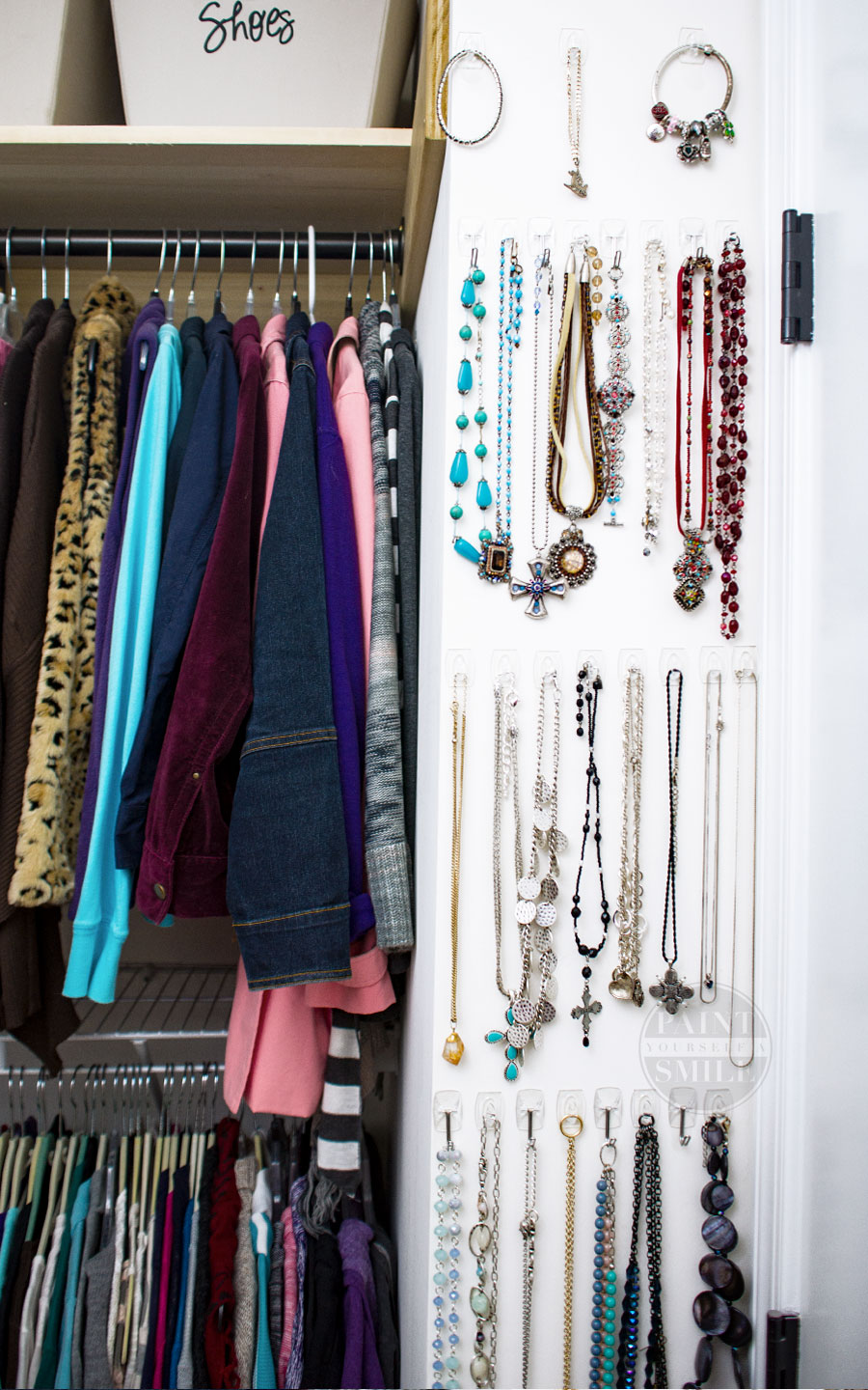 Great inexpensive tips & ideas to make the most of the closet....Maximize Your Closet Space on a Budget