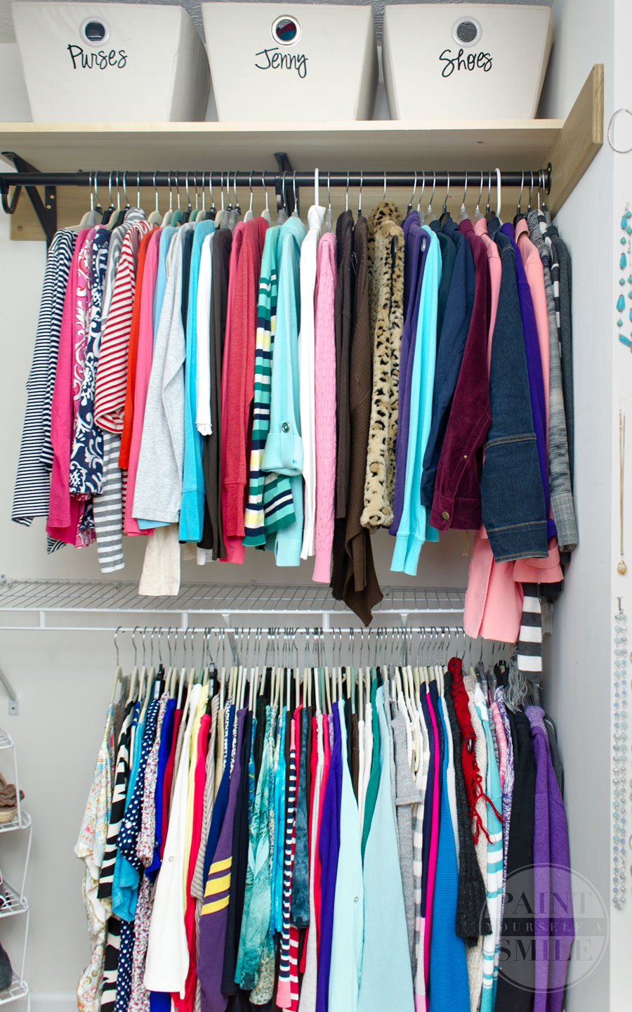 Great inexpensive tips & ideas to make the most of my closet....Maximize Your