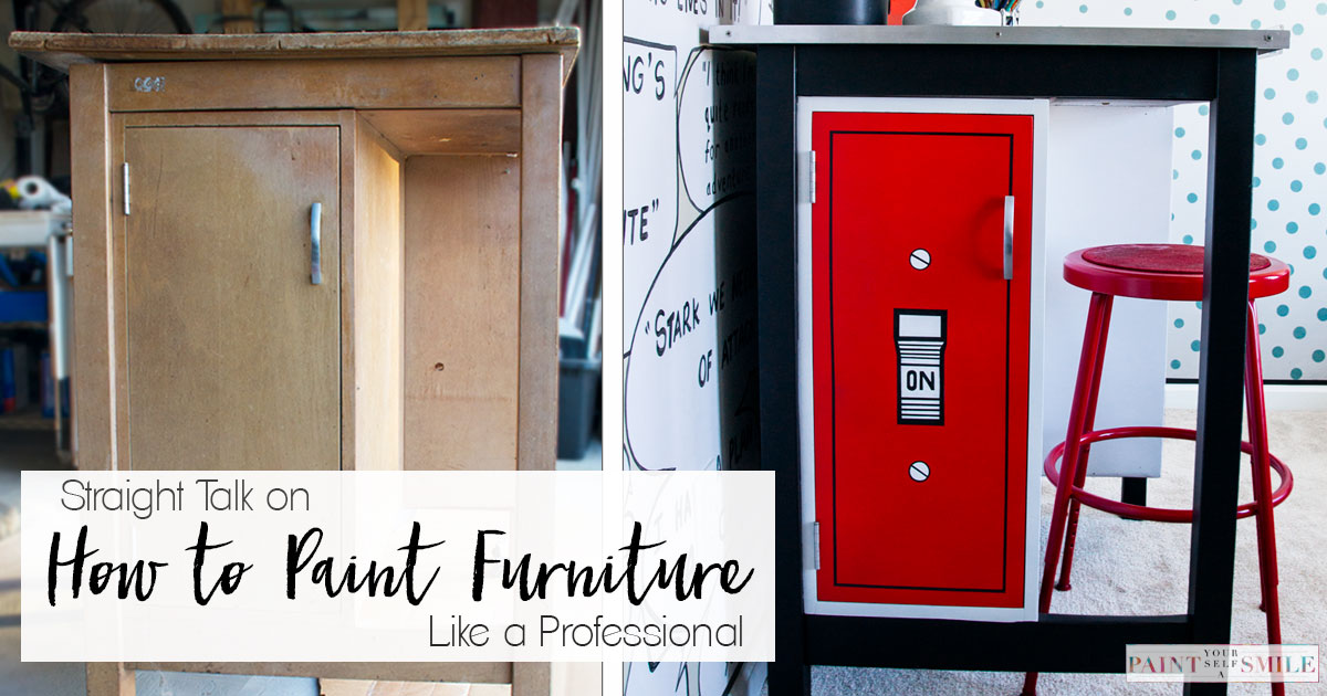 How To Paint Furniture Like a Professional - Paint Yourself