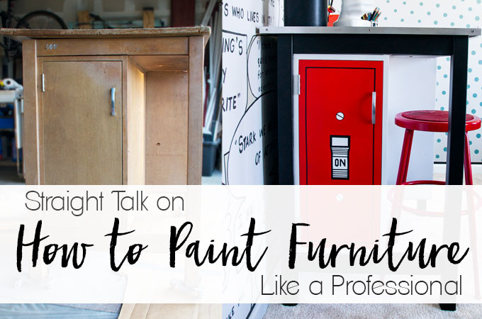 How To Paint Furniture Like a Professional
