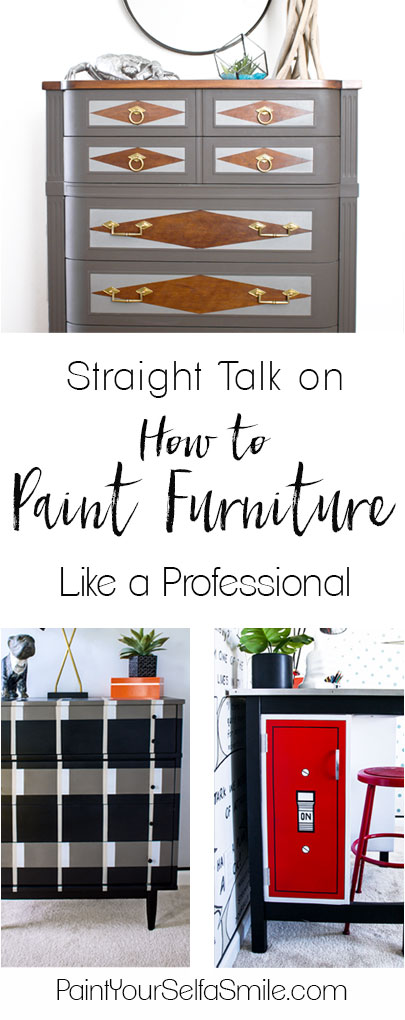 Great article covering the process professionals use to paint furniture flawlessly. Lots of straight talk and very thorough!