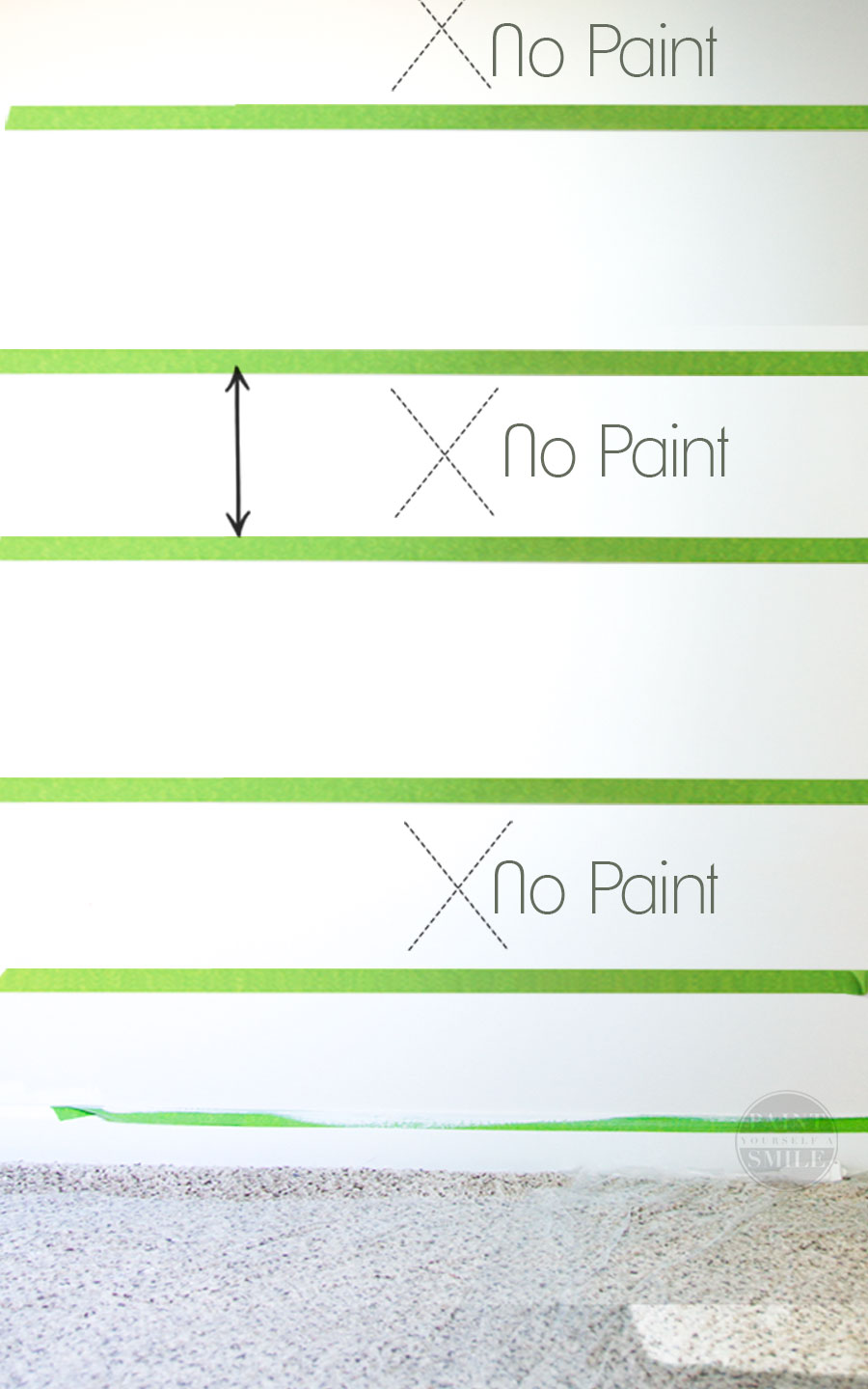 How to get bleed free flawless results with painters tape and step by step instructions to quickly transform a room