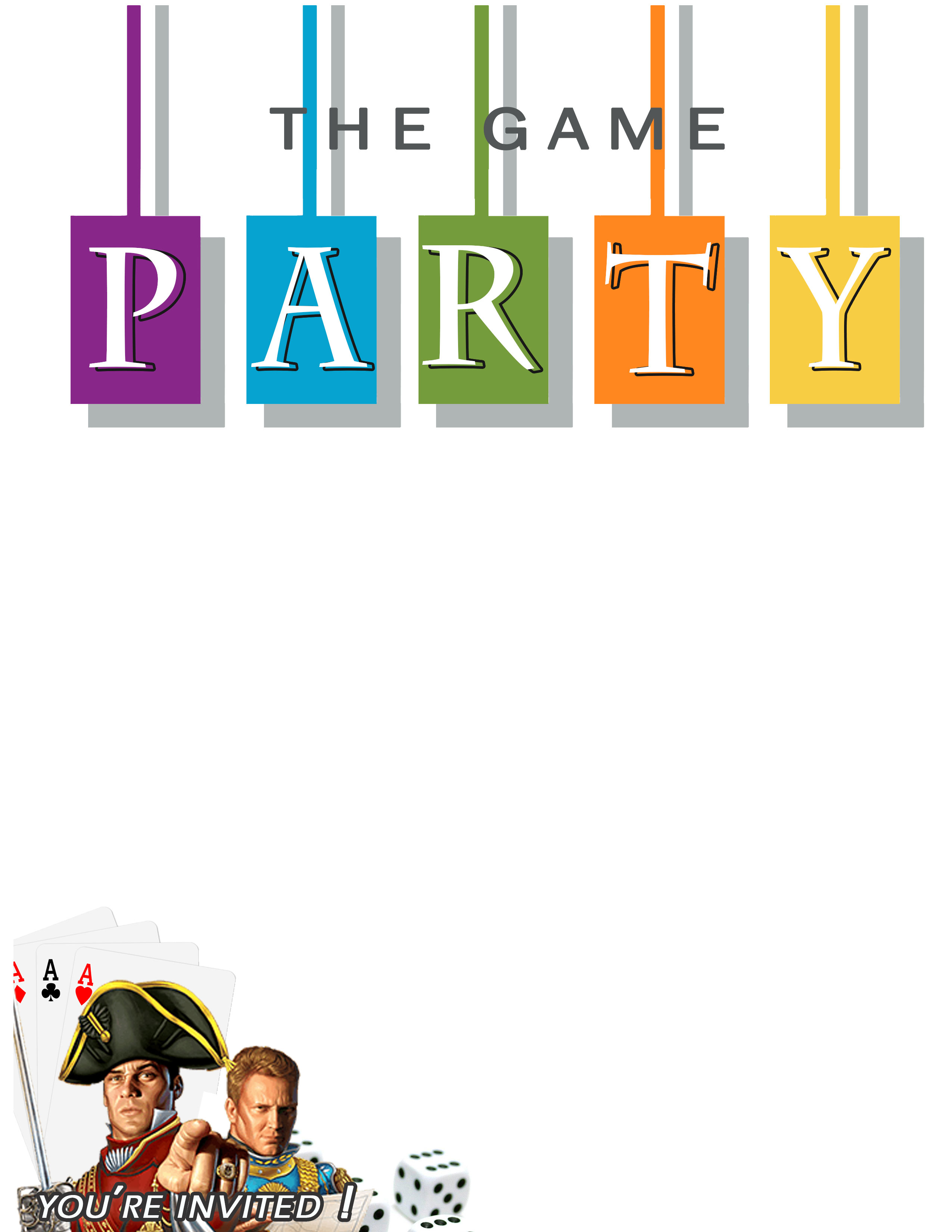 Free download printable game party invitation paint yourself a smile awesome free printable game party invite diy game night party ideas and free invitation download solutioingenieria Image collections