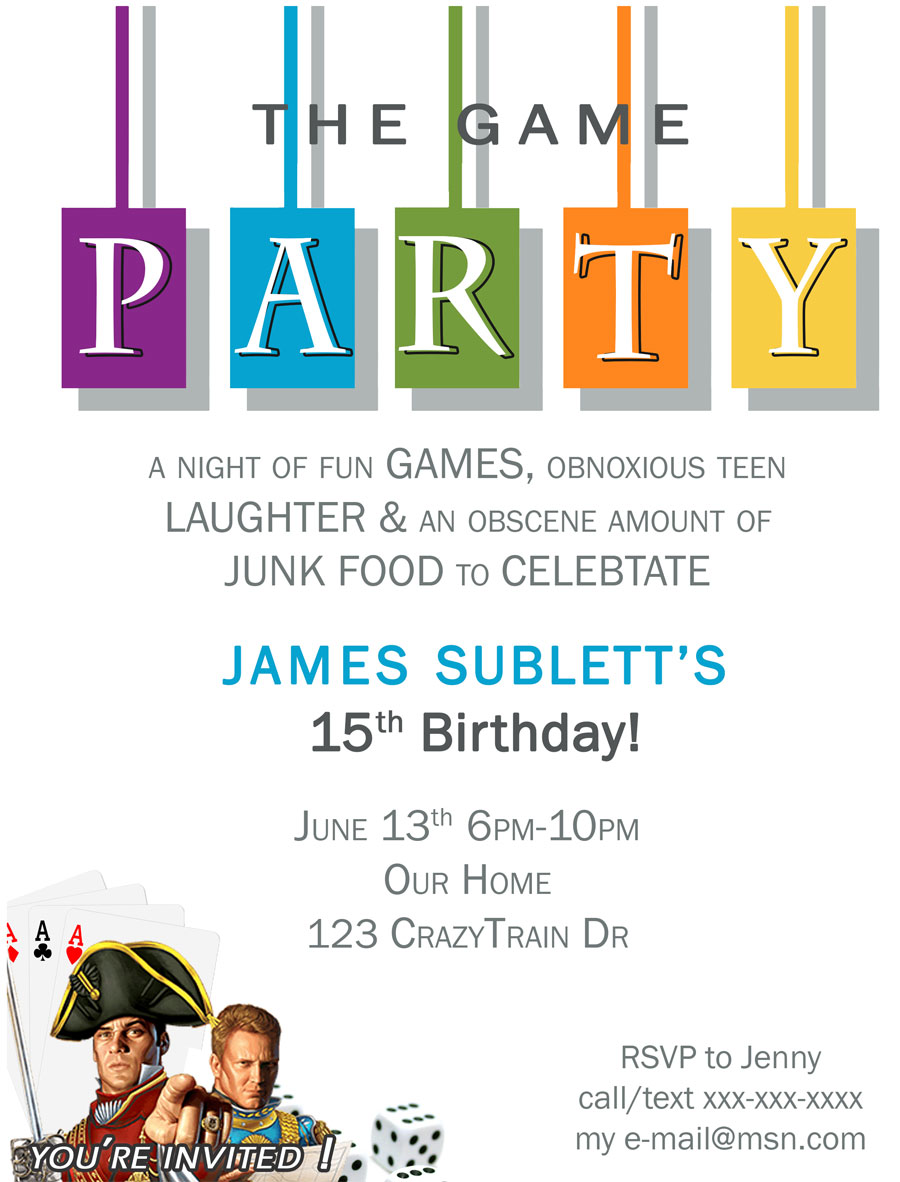 Free Game Night Printable Invite  Paint Yourself A Smile. Good Production Resume Sample. Sports Web Site Template. Free Technical Publications Manager Cover Letter. Open Office Business Card Template. Free Service Agreement Template. College Grad Resume Template. Free Payment Receipt Template. Contact List Template Pdf