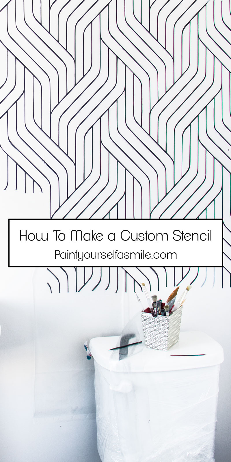 How To Create Your Own Stencil Paint Yourself A Smile