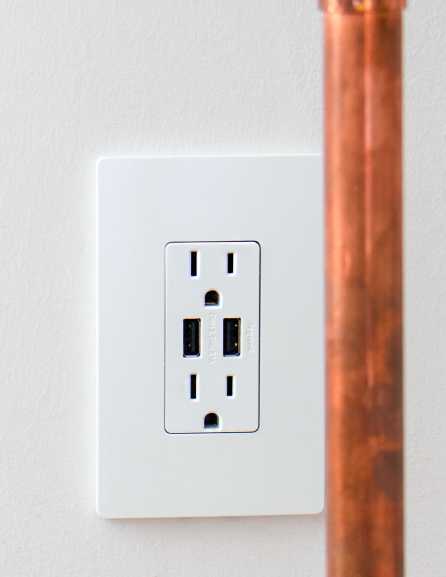 How to get kids to stop leaving the lights on, desk wire clutter solutions and pretty screw less switch plate and outlet options.