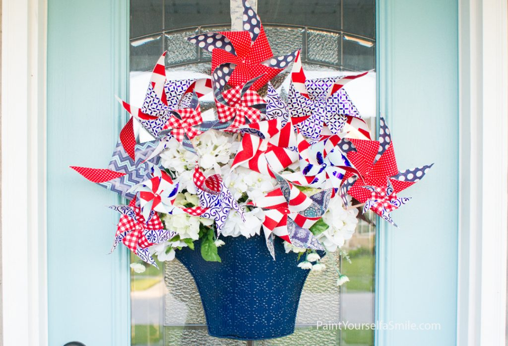 Pinwheel Bouquet Tutorial & Curb Appeal Challenge