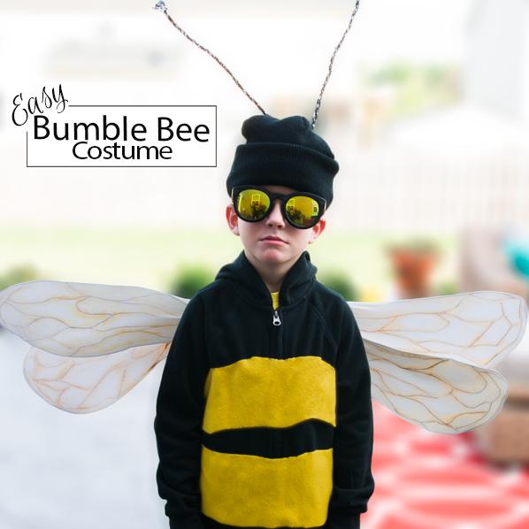 Easy Bumble Bee Costume