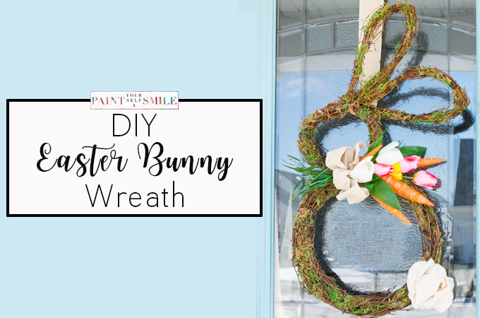 How to Make a Grapevine Bunny Wreath