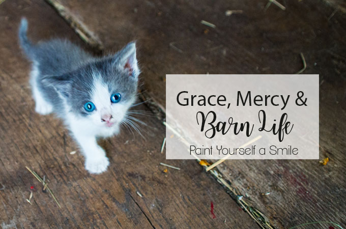 Grace, Mercy and Barn Life