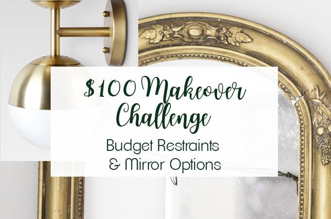 Bathroom Lighting, Budget Restraints & Mirror Options